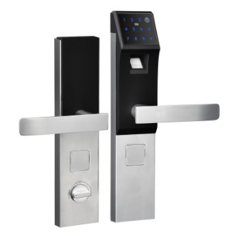 Smart fingerprint door lock.