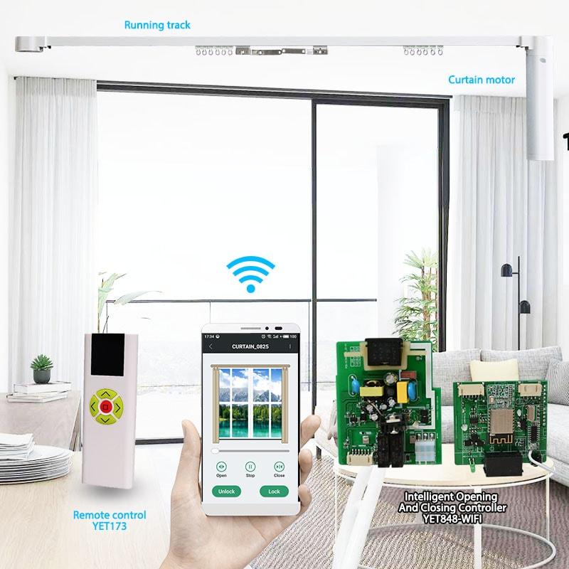 wifizhinengdian动窗lian控制器套件。