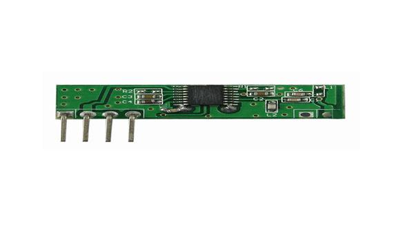 ASK超外差3-5V无线接收模块YET205A