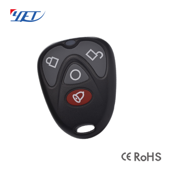 YET023可定制塑胶无线遥控器生产厂家