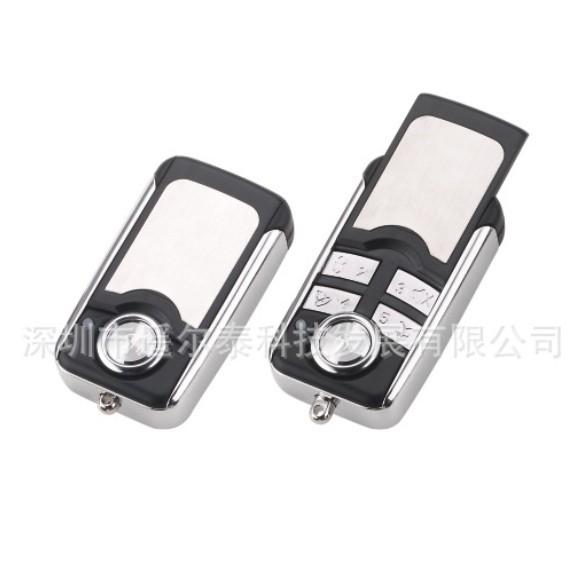 YET082五个键新款金属无线遥控器,汽车防盗器配件