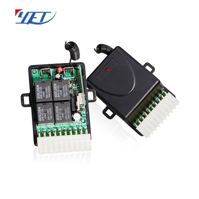 YET404PC-V4.0 四路无线智能接收控制器