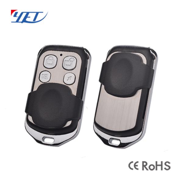 金属拷贝型推盖/滑盖伸缩门无线遥控器YET004